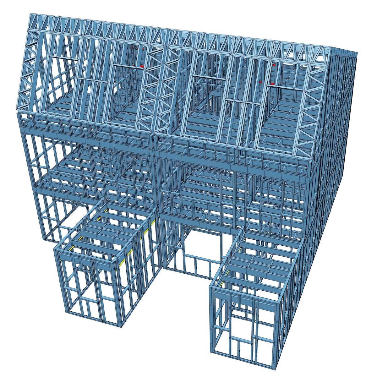 3D-Modell TodayHaus